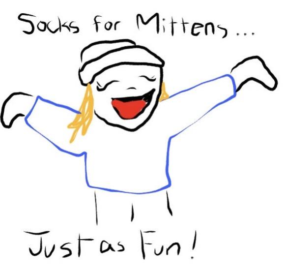 Socks for Mittens